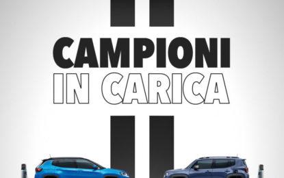Jeep e Juventus festeggiano lo scudetto 2019-2020