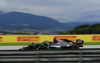 Austria: nelle libere gap ridotto tra le mescole Pirelli