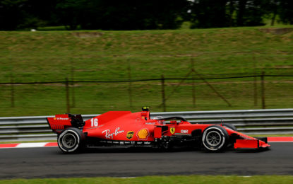 Gran Bretagna: nelle FP1 Leclerc quinto, guai per Vettel