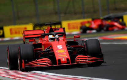 Ungheria: qualifica che rispecchia l'attuale potenziale Ferrari