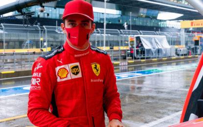 Stiria: per la Ferrari piove sul bagnato. Penalità per Leclerc che partirà 14°