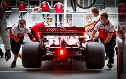 Alfa Romeo Racing ultime in griglia: ma cosa succede?