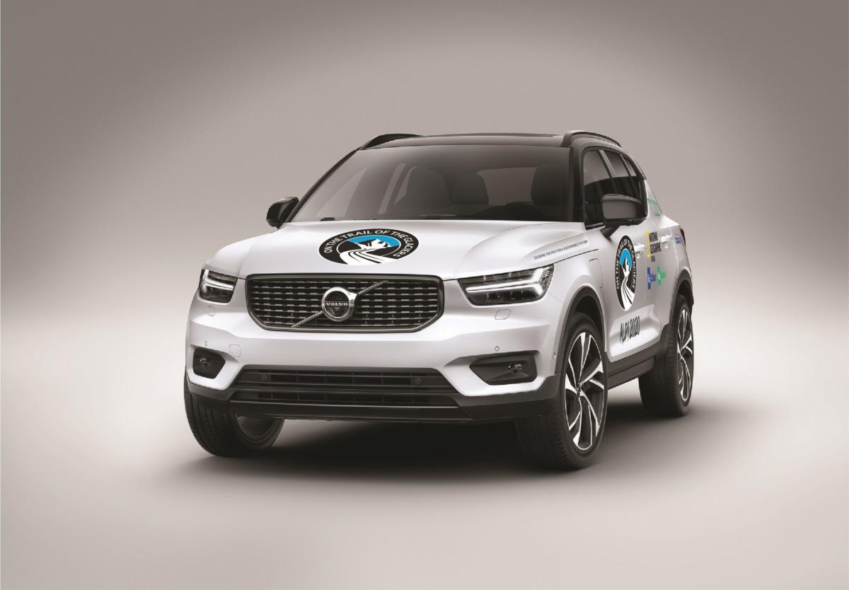 Spedizione Alpi 2020 a bordo di tre Volvo plug-in hybrid