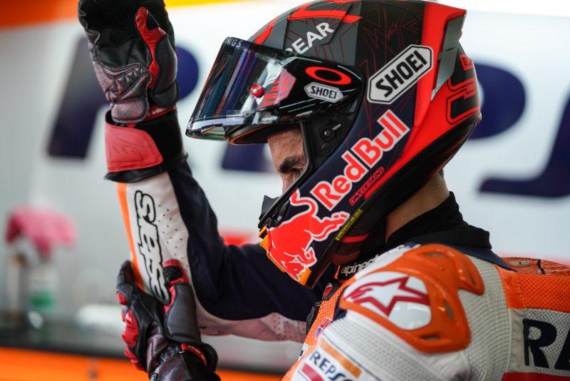 Marquez: la voglia di provarci, il coraggio di fermarsi