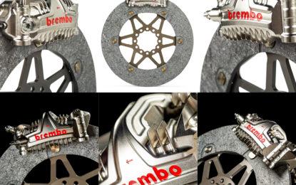 Impianti frenanti Brembo: le novità per il campionato MotoGP 2020