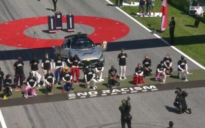 Niente richieste di gesti anti-razzismo in F1