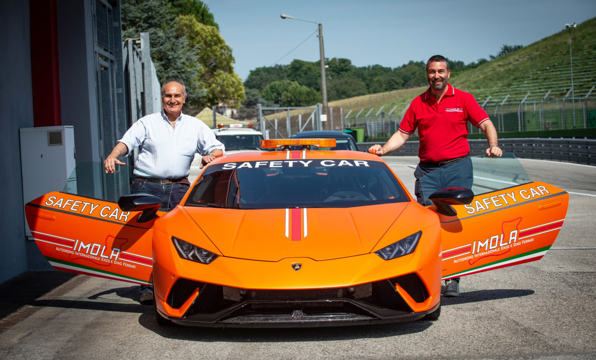 Imola: Lamborghini Huracan Performante nuova safety car