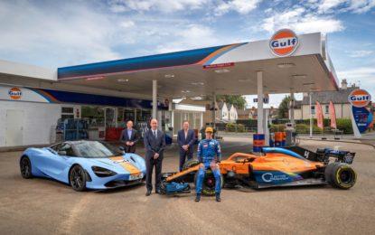 Gulf e McLaren: partnership pluriennale, dalla F1 alle supercar
