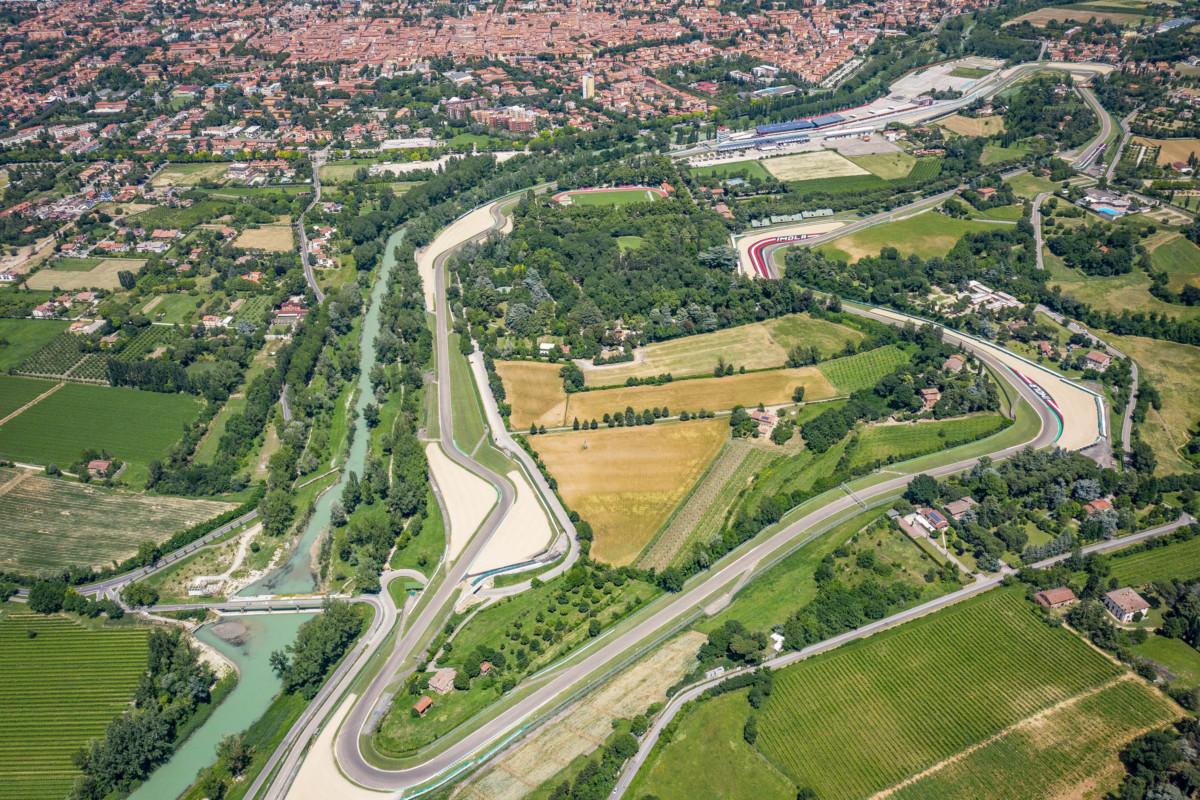 Imola e le misure anti-Covid per il GP dell'Emilia Romagna