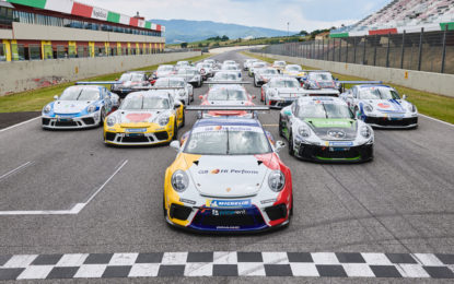 La Porsche Carrera Cup Italia inaugura il 2020 al Mugello