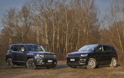 Aperti gli ordini per Jeep Renegade 4xe e Compass 4xe