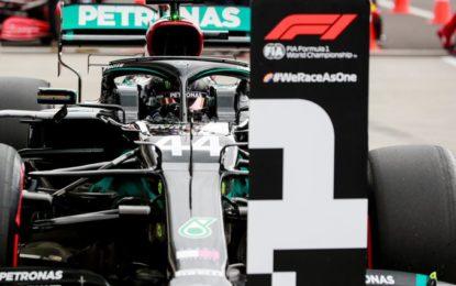 90° pole e 7° in Ungheria per Hamilton. Poi Bottas, le Racing Point e le Ferrari