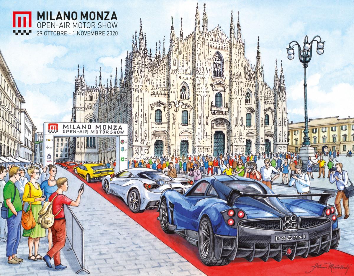 Milano Monza Open-Air Motor Show: il cuore sarà Piazza Duomo