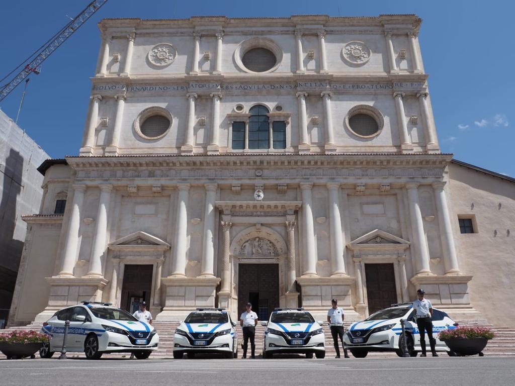 Nissan e L'Aquila ancora insieme per la mobilità sostenibile
