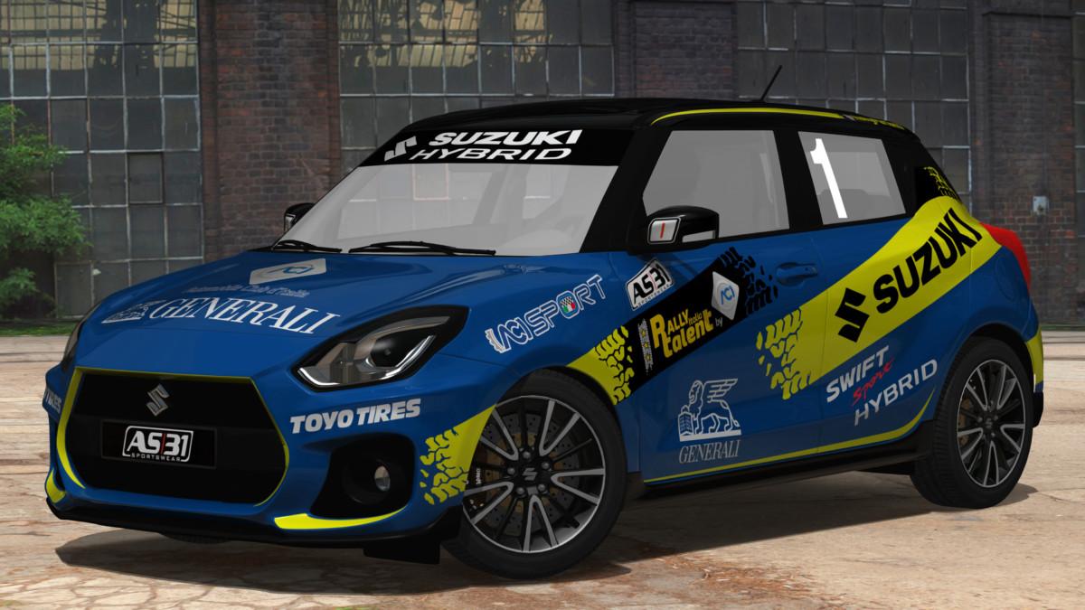 ACI Rally Italia Talent 2020 riparte da Pergusa con nuova SWIFT SPORT HYBRID