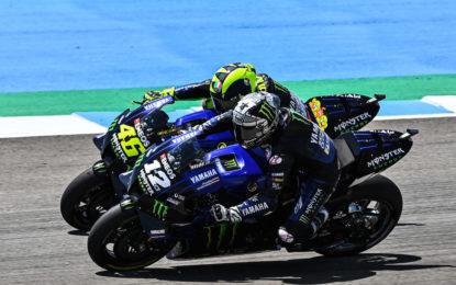 GP di Andalusia da incorniciare per Yamaha e Rossi