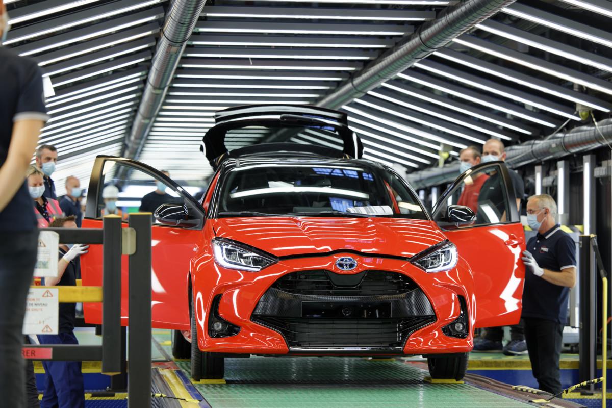 Inizia la produzione della nuova Toyota Yaris