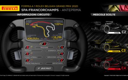 Mescole di uno step più morbide per il GP del Belgio