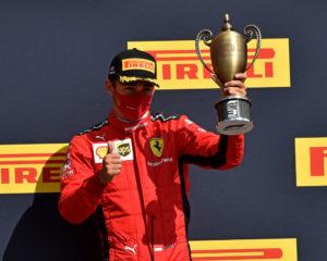 Gran Bretagna; un po' di fortuna e arriva un podio per la Ferrari