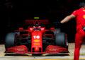 Ferrari alla vigilia del GP del Belgio 2020