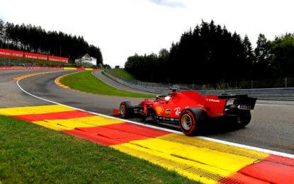 Ferrari: un venerdì rosso di imbarazzo in Belgio