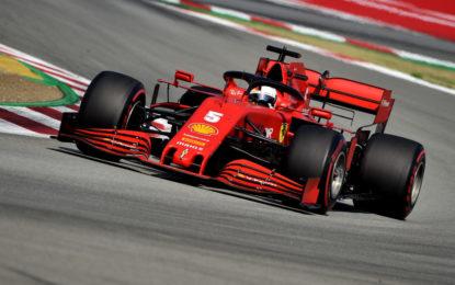 Ferrari: a Barcellona vince il cuore di Seb. Il resto è notte fonda