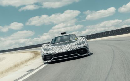 Mercedes-AMG Project ONE: proseguono i test