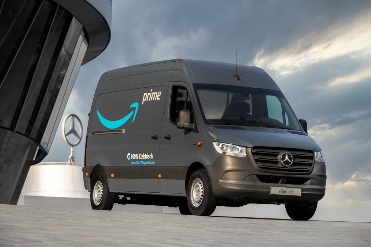 Mercedes-Benz e Amazon insieme per la protezione del clima