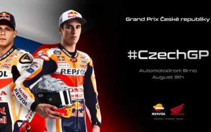 MotoGP: Stefan Bradl al fianco di Alex Marquez a Brno