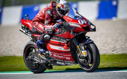 MotoGP: terza e quarta fila per i piloti Ducati nel GP di Stiria