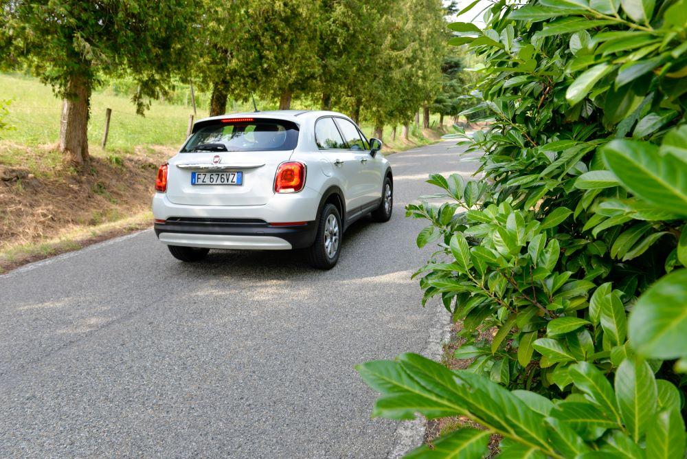 Fiat 500 X a metano: risparmio quasi del 55%. Emissioni giù del 25%