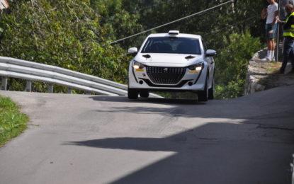 Andreucci-Andreussi: al Ciocco il debutto sulla nuova Peugeot Rally 4