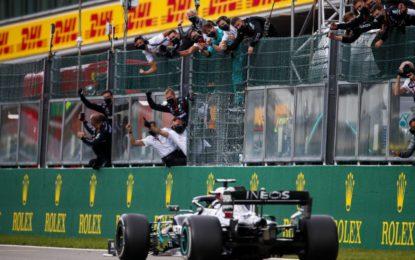 Belgio: Hamilton a quota 89, poi Bottas, Verstappen e Ricciardo. Ferrari fuori dai punti