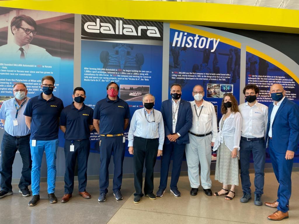 Jean Todt in visita alla Dallara USA