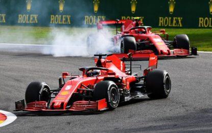 Belgio: Ferrari delusa e arrabbiata. Come i tifosi