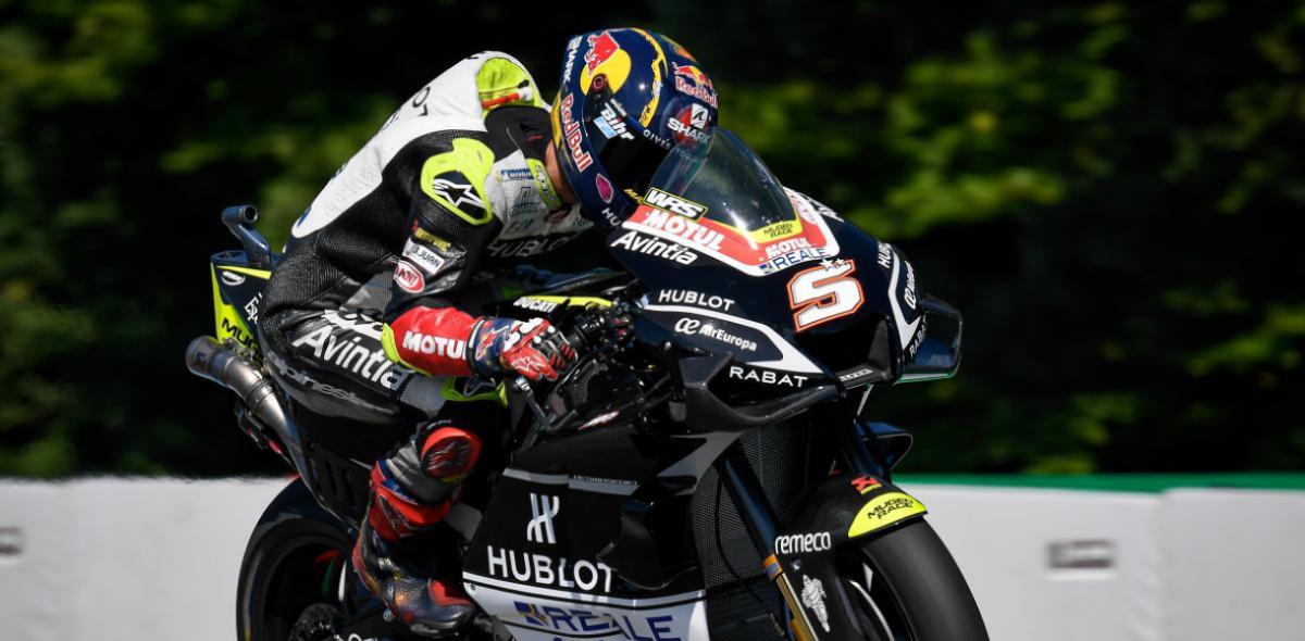 MotoGP: Zarco, Quartararo e Morbidelli nelle qualifiche di Brno