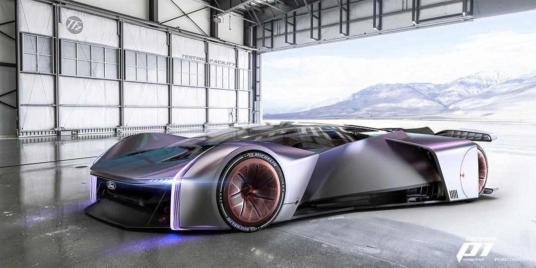 Ford svela la racing car virtuale TeamFordzillaP1