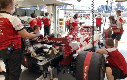Dopo la Spagna, per lo staff Alfa Romeo la quarantena