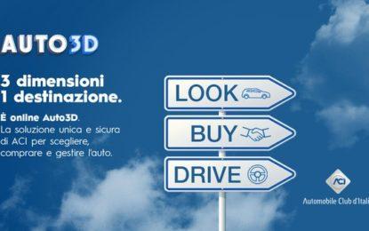 ACI Auto3D: la piattaforma per scegliere, comprare e gestire un'auto