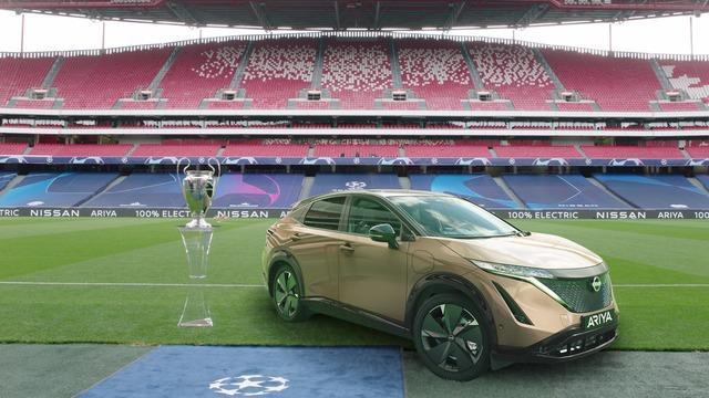 Nissan regala una Finale Champions League unica a 50 clienti LEAF