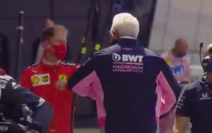 Szafnauer non nega le voci su Vettel