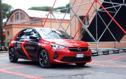Opel Corsa-e auto ufficiale di X Factor 2020
