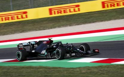 Bottas e Mercedes davanti nelle libere del venerdì al Mugello