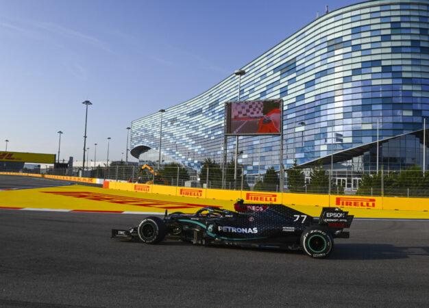 Russia: Bottas e Mercedes dominano il venerdì a Sochi