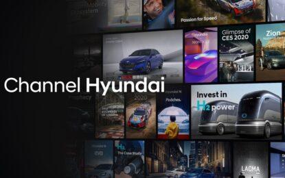 "Hyundai lancia ""Channel Hyundai"" su Smart TV"