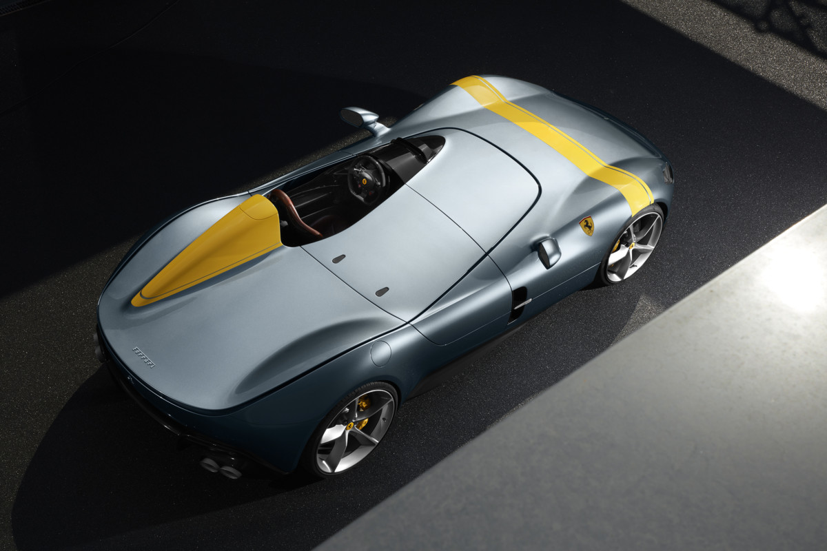 La Ferrari Monza SP1 si aggiudica il Compasso d'Oro 2020