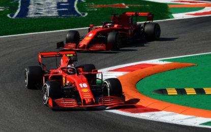Ferrari 9° e 12° nelle libere. Difficile aspettarsi di più in qualifica, dicono i piloti