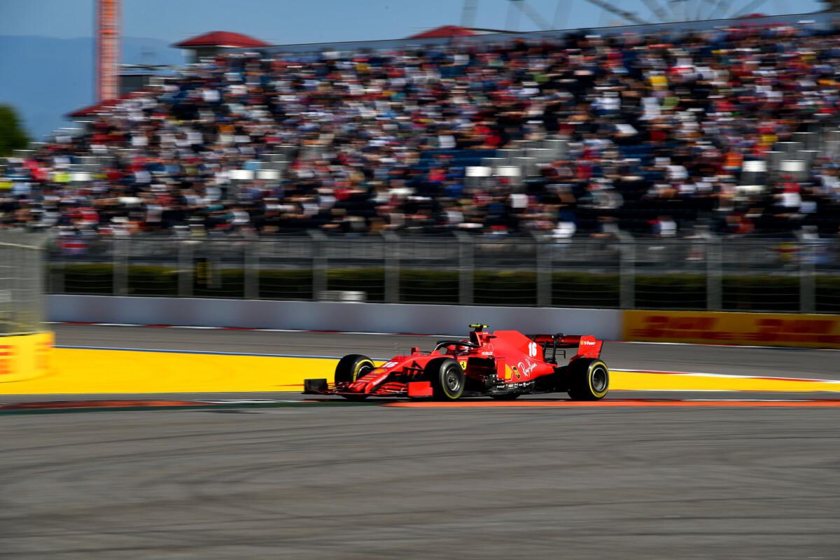 """Ferrari 6° e 13° a Sochi: per Binotto """"un passo avanti"""""""