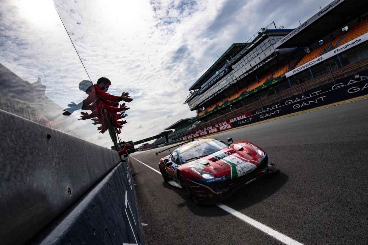 Doppio podio Ferrari alla 24 Ore di Le Mans