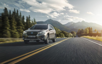 Nove modelli Subaru premiati ai Top Safety Pick Awards 2020